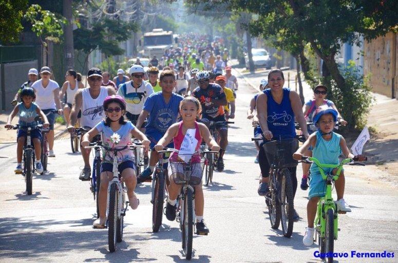 Passeio acontece neste domingo em comemoração ao Dia Nacional do Ciclista