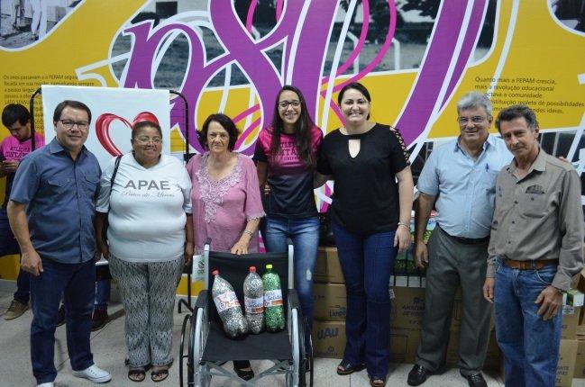"""UNIPAM e parceiros apresentam resultados do Projeto """"Lacre Solidário"""""""