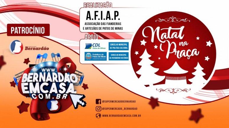 Associação de Artesãos abre o Natal na Praça do Coreto nesta quinta-feira