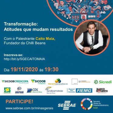 Semana do Empreendedorismo traz palestra com fundador da maior empresa de venda de óculos da América Latina