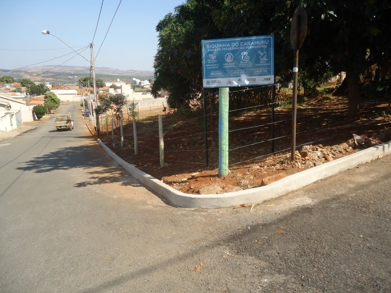 Praça da nascente urbana no bairro Caramuru recebe intervenções e melhorias