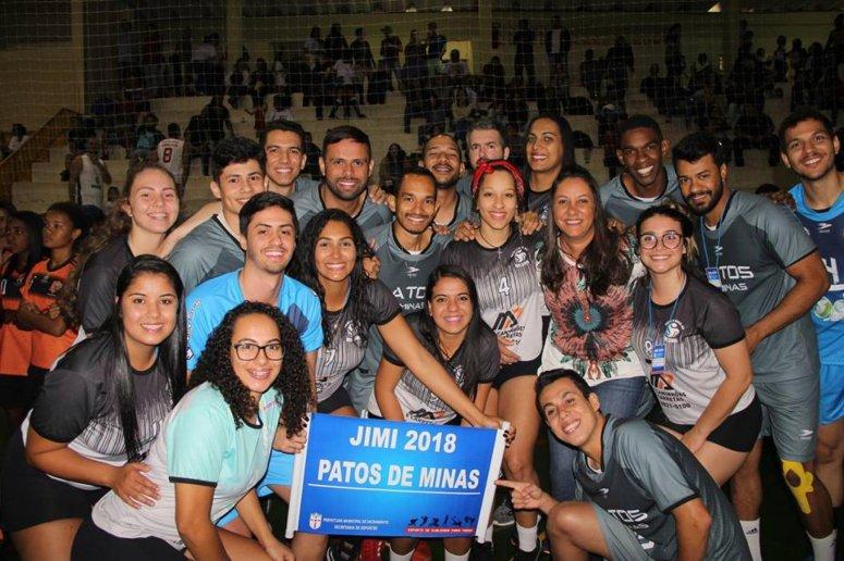 Atletas Patenses participam da etapa Microrregional Triângulo-Noroeste dos Jogos do Interior de Minas 2018