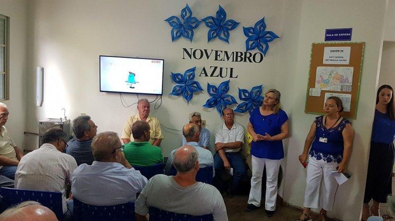Novembro Azul: Unidade de Saúde Jardim Paraíso realiza ações de promoção à saúde do homem