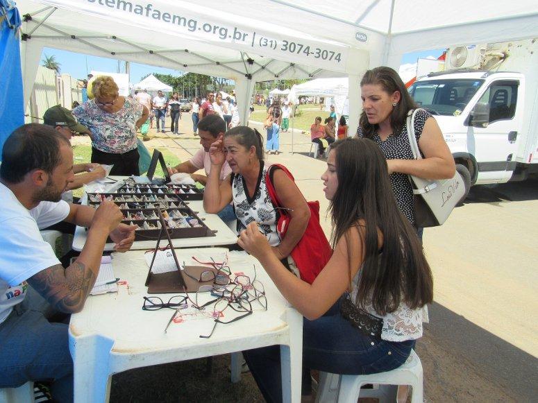 Família na Praça: Senar leva entretenimento e serviços de saúde a Presidente Olegário