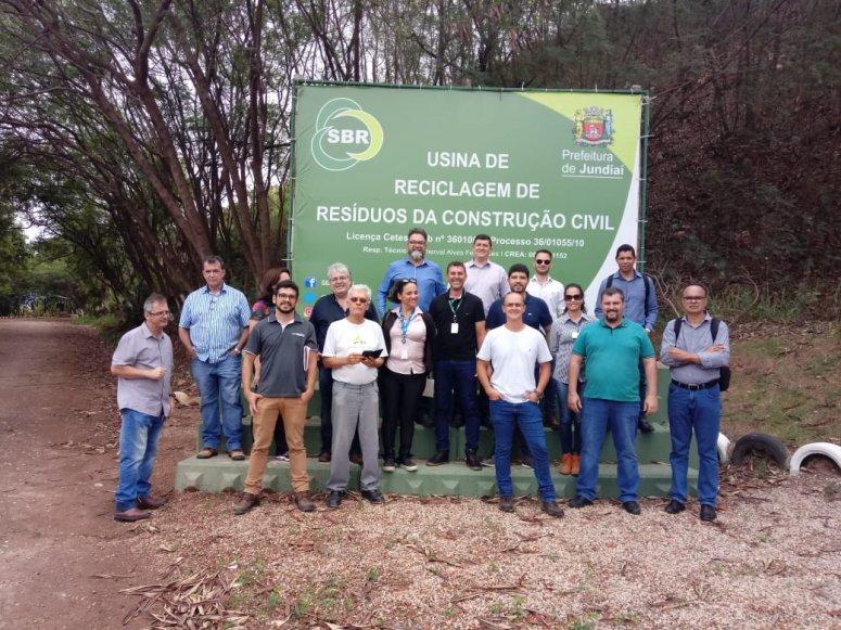 Lideranças conhecem soluções para Gestão de Resíduos Sólidos da Construção Civil
