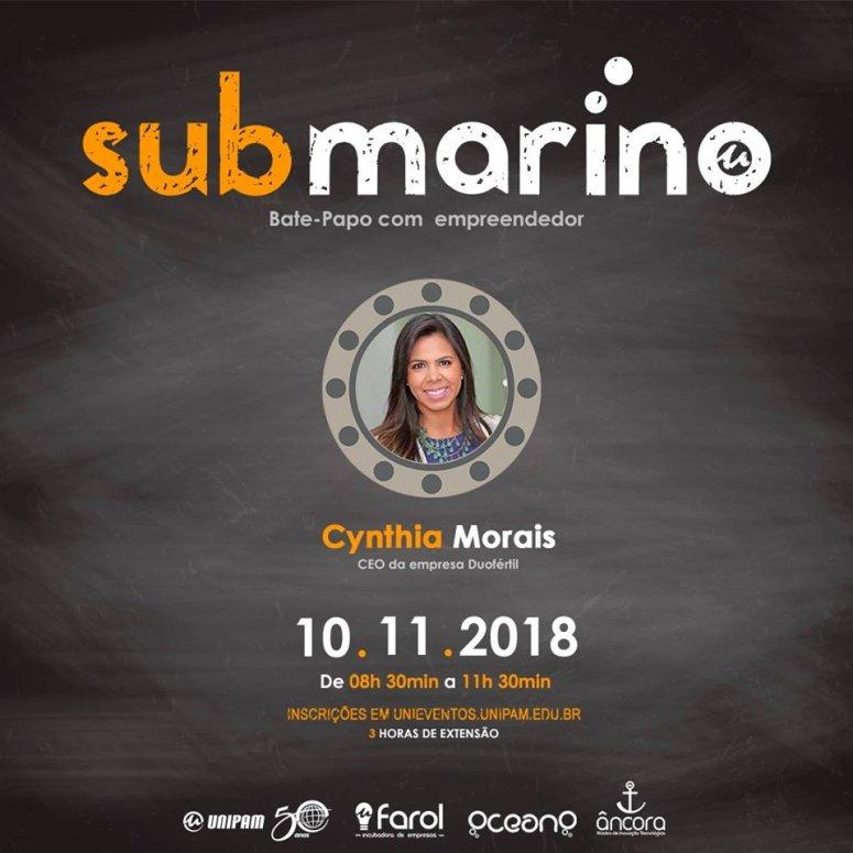 """Farol Incubadora, OceanO e NIT promovem o evento """"Submarino"""""""