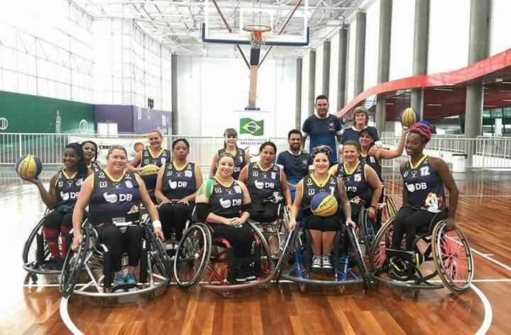 APP/UNIPAM/DB de basquete em cadeiras de rodas participa de Campeonato Nacional