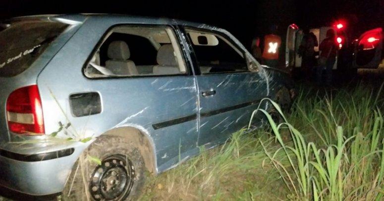 Homem é preso ao dirigir embriagado e causar acidente em Bonfinópolis