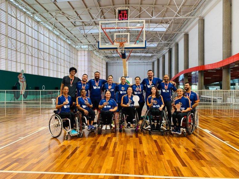 Equipe feminina da APP/UNIPAM conquista segundo lugar em Campeonato Brasileiro de Basquete em Cadeiras de Rodas