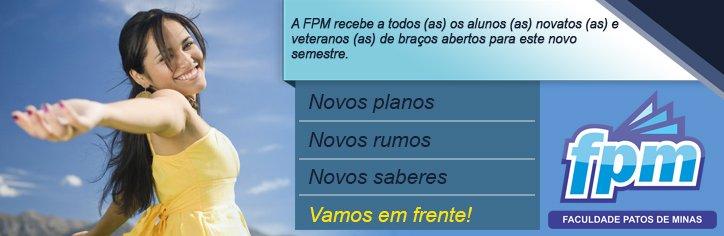 FPM anuncia que aulas para novas turmas iniciam dia 16 de agosto