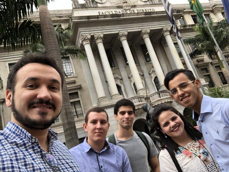 Grupo de Estudos de Direito e História participa de Congresso Brasileiro