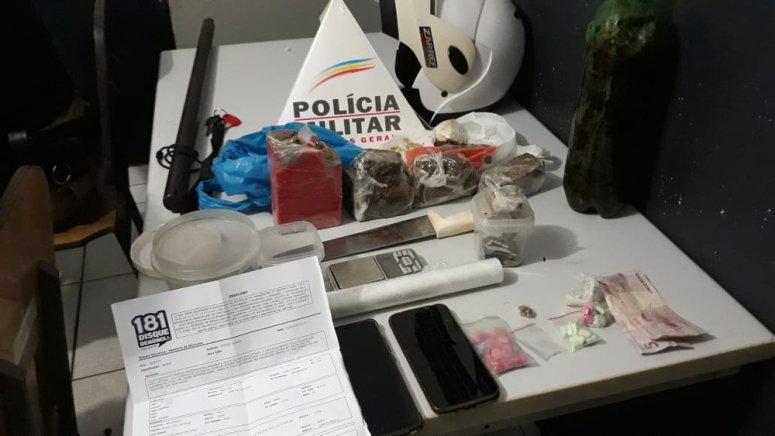 Jovens são presos por crime ambiental e tráfico de drogas no Bairro Bela Vista
