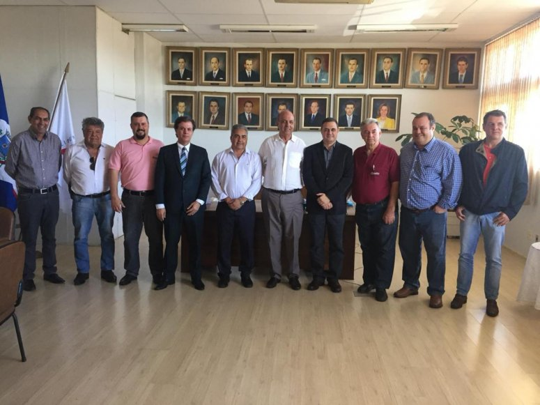 Presidente da Emater visita Prefeitura Municipal