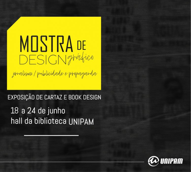 Mostra de Design Gráfico será promovida no UNIPAM