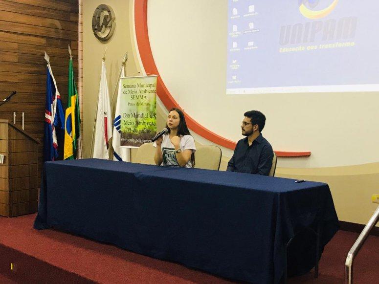 Recursos Hídricos e Gestão Ambiental são temas de palestras