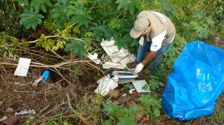 Dezoito bairros recebem ações de limpeza do Programa de Combate à Dengue