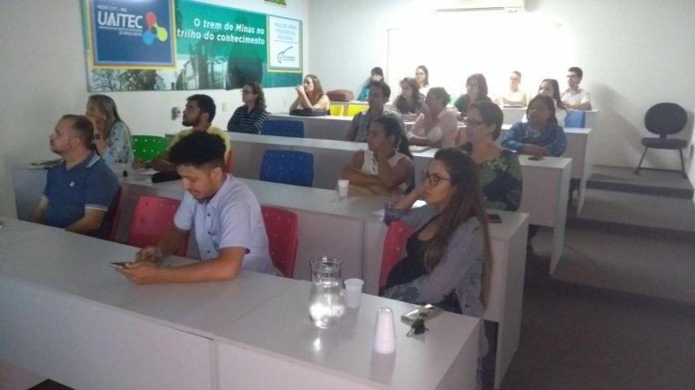 Dentro da proposta do Planejamento Estratégico, servidores participam de treinamento sobre Sistema de Gerenciamento
