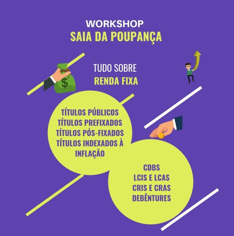 """Workshop """"Saia da Poupança"""" será ministrado no UNIPAM"""