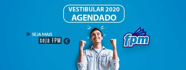 Inscrições abertas: Vestibular agendado FPM 2020
