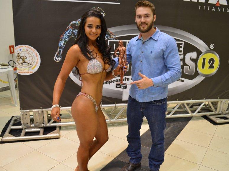 Fisiculturismo: Atleta de Lagoa Formosa conquista terceira colocação em evento realizado em Uberlândia