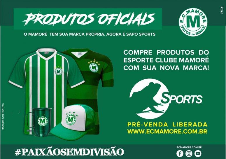 Mamoré lança marca própria e loja virtual para venda de produtos oficiais do time
