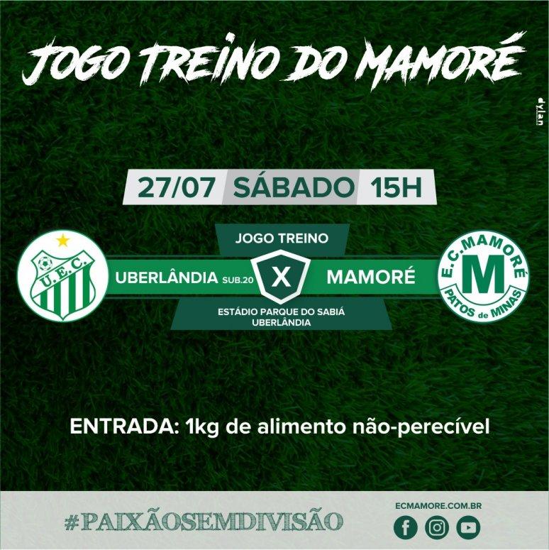 Mamoré realiza novo jogo treino no próximo sábado