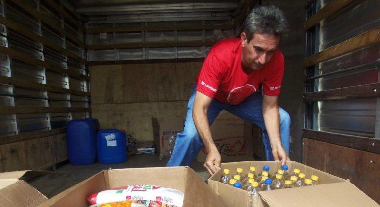 Donativos são entregues a entidades filantrópicas
