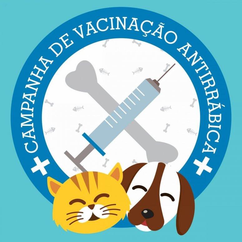 Campanha de Vacinação Antirrábica para Cães e Gatos 2018 termina neste sábado
