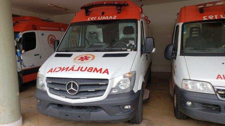 Frota do Samu recebe mais uma ambulância