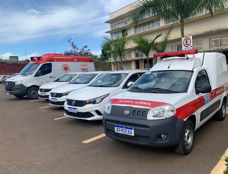 Prefeitura Municipal reforça frota veículos em Patos de Minas