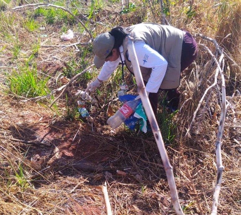 Programa de Combate à Dengue realiza mutirão de limpeza no Bairro Jardim Itamarati