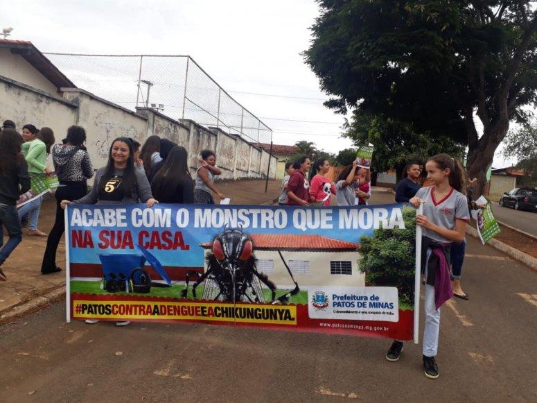 Programa de Combate à Dengue intensifica ações em Patos de Minas