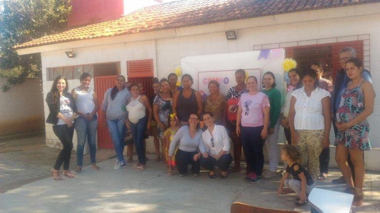 Equipes do CRAS 1 e NASF 2 realizam encontros do Grupo de Gestantes