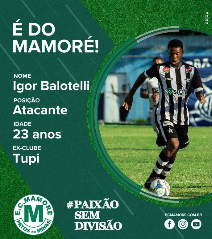 Mamoré contrata atacante Igor Balotelli