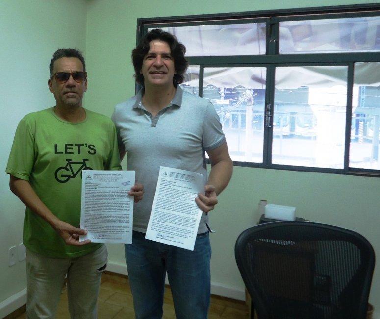 Conselheiro ambiental protocola no Consep proposta de segurança para o Parque do Mocambo