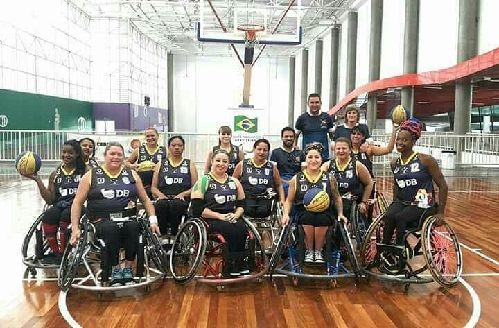Equipes APP-UNIPAM-DB de Basquete em Cadeira de Rodas se preparam para competições