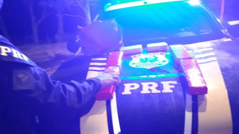 PRF realiza apreensão de 5 kg de substância análoga à maconha