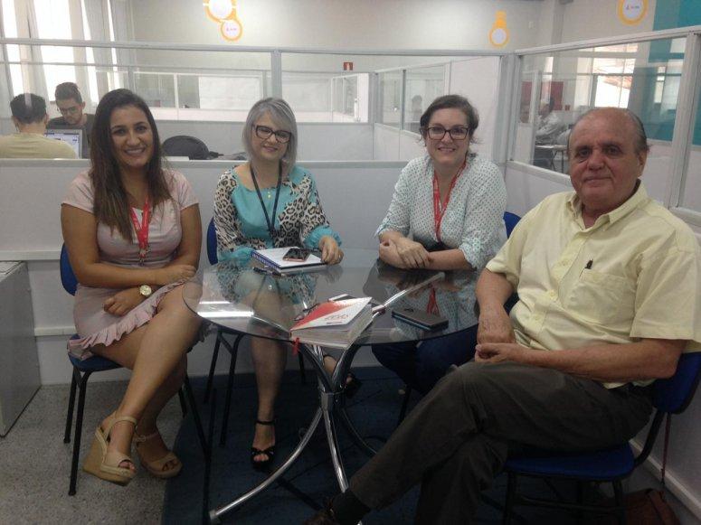 Farol Incubadora de Empresas recebe visita técnica da FIEMG