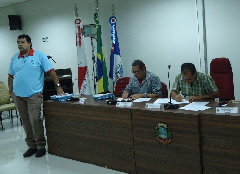 Primeira reunião do ano do Codema  recebe a coordenadora de áreas verdes e parques municipais