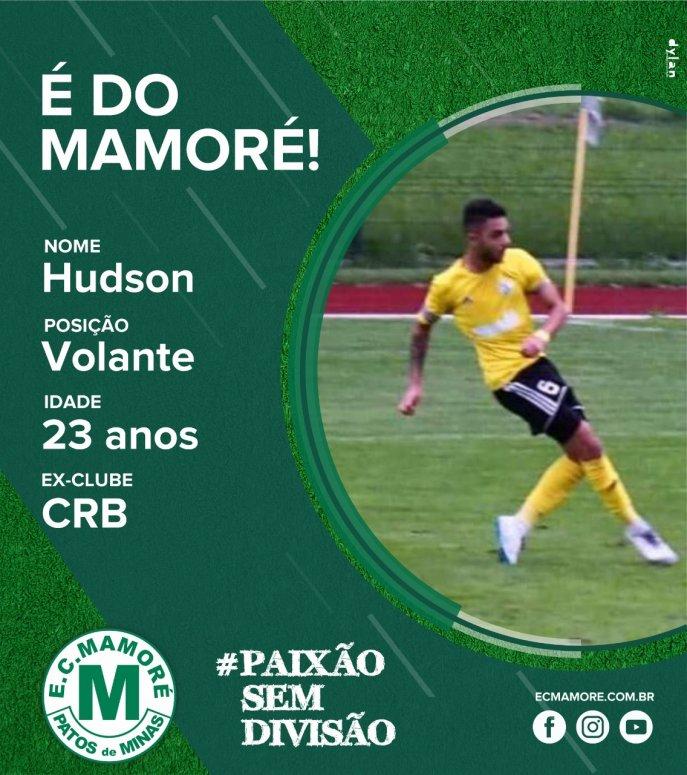 Hudson Felipe é contratado pelo Mamoré