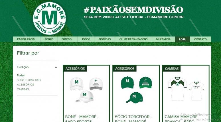 Camisas oficiais do Mamoré e de sócio-torcedor já podem ser retiradas no Estádio