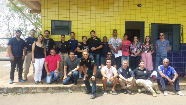 Curso de Educação Física realiza patrulha da saúde em parceria com a PRF