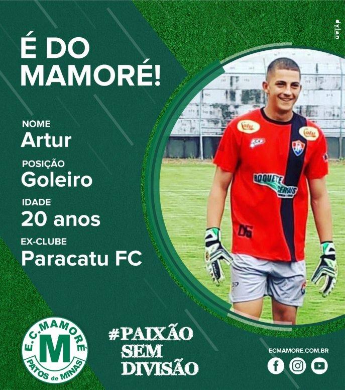 Mamoré realiza parceria com Paracatu Futebol Clube