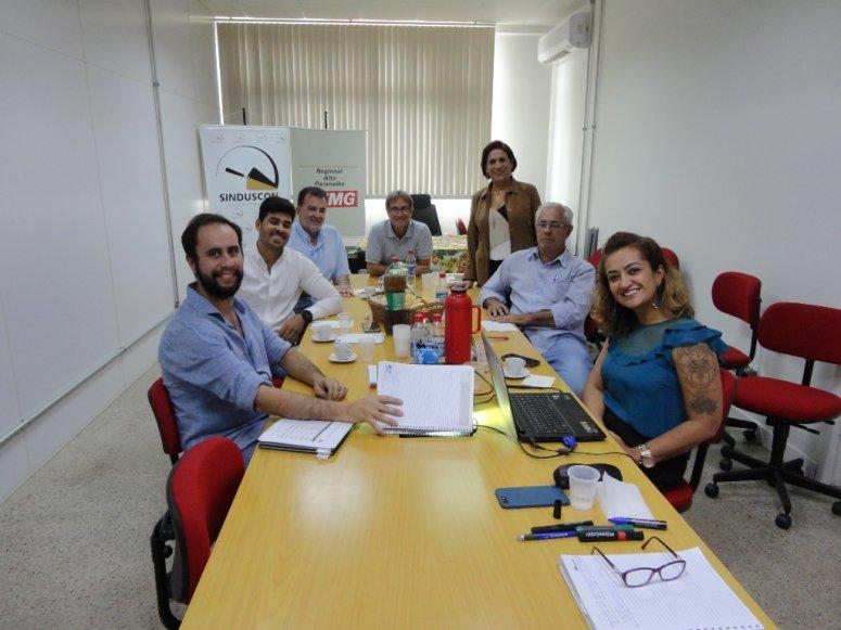 Sinduscon, Sindivest e Sindimetal fazem Planejamento Estratégico