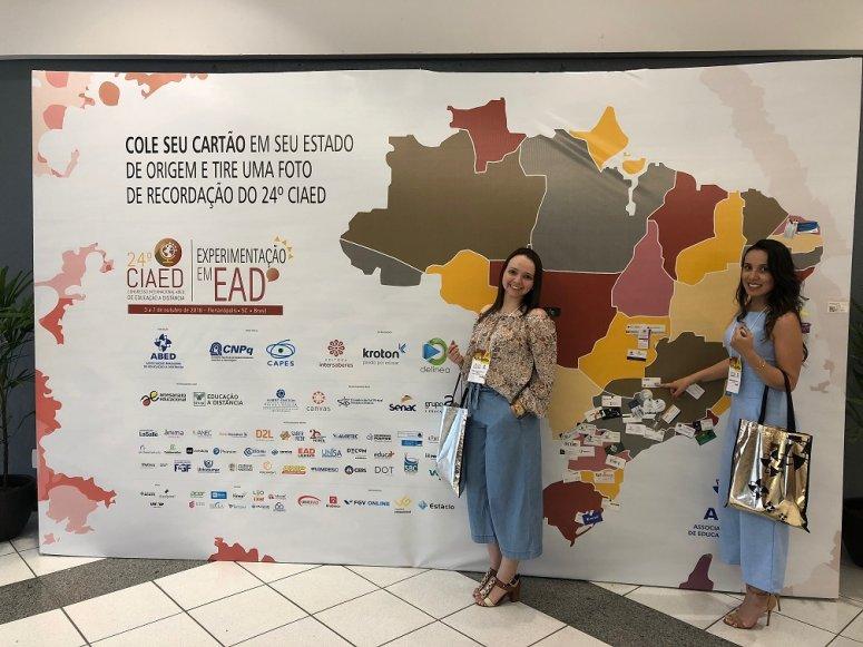 Professoras do UNIPAM participam de Congresso Internacional de EAD
