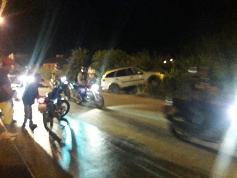 Motorista com suspeita de embriaguez provoca acidente na rua São Geraldo