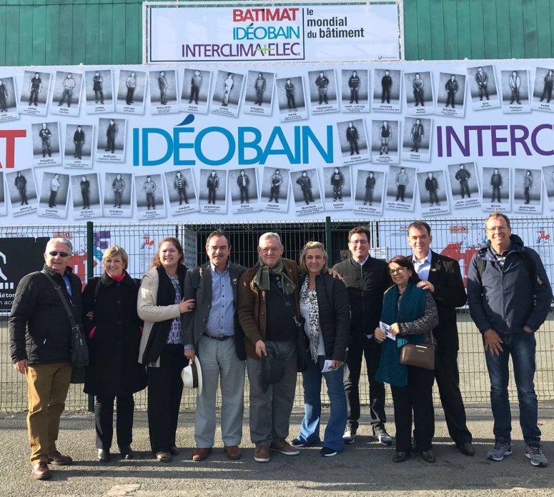 Diretores do Sinduscon participam de Feira Internacional