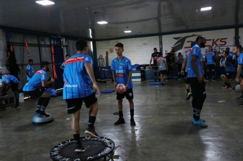 URT prepara time para confronto contra Ituano