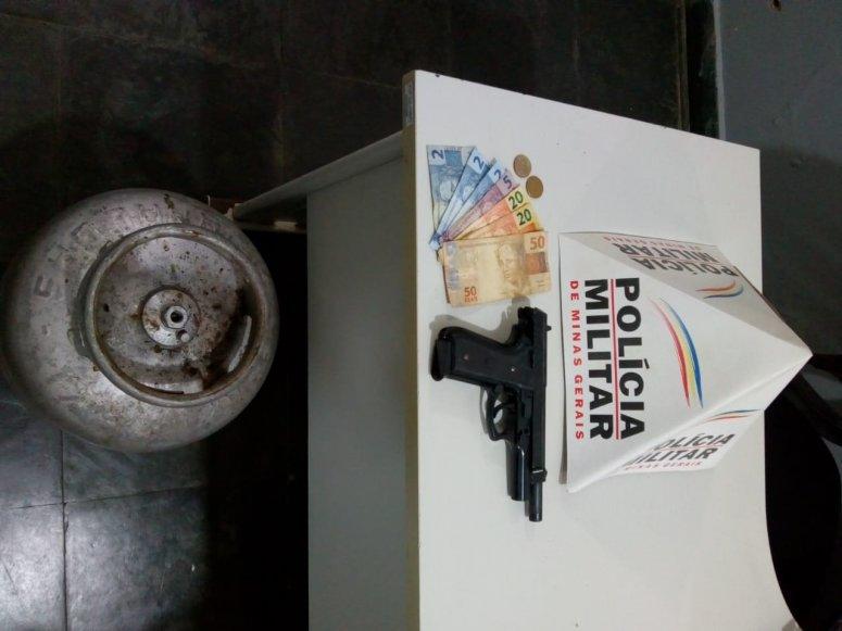 Ladrões roubam botijão de gás e leitoa pronta para servir como alimento em zona rural de São Gotardo