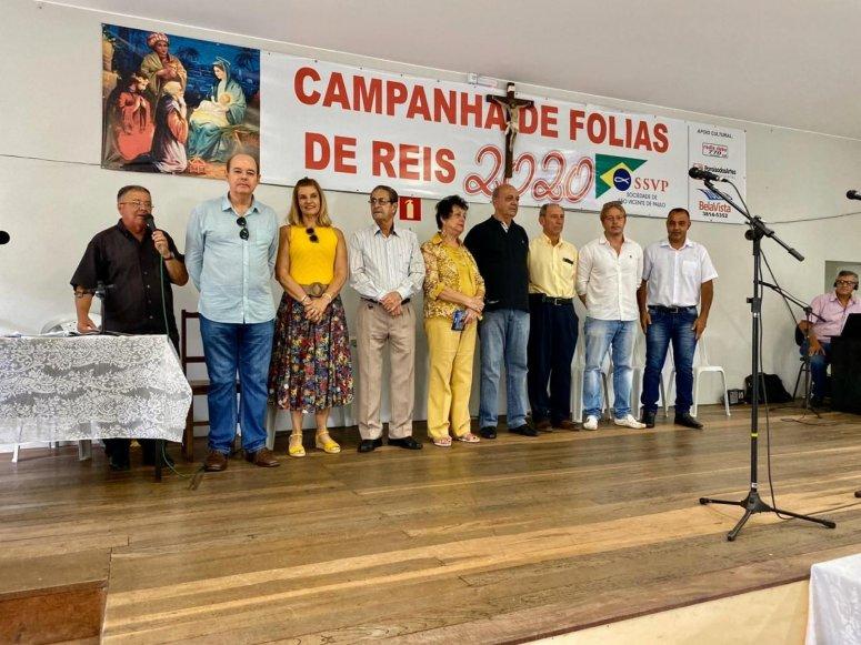 Campanha de Folia de Reis 2020 é aberta no último domingo